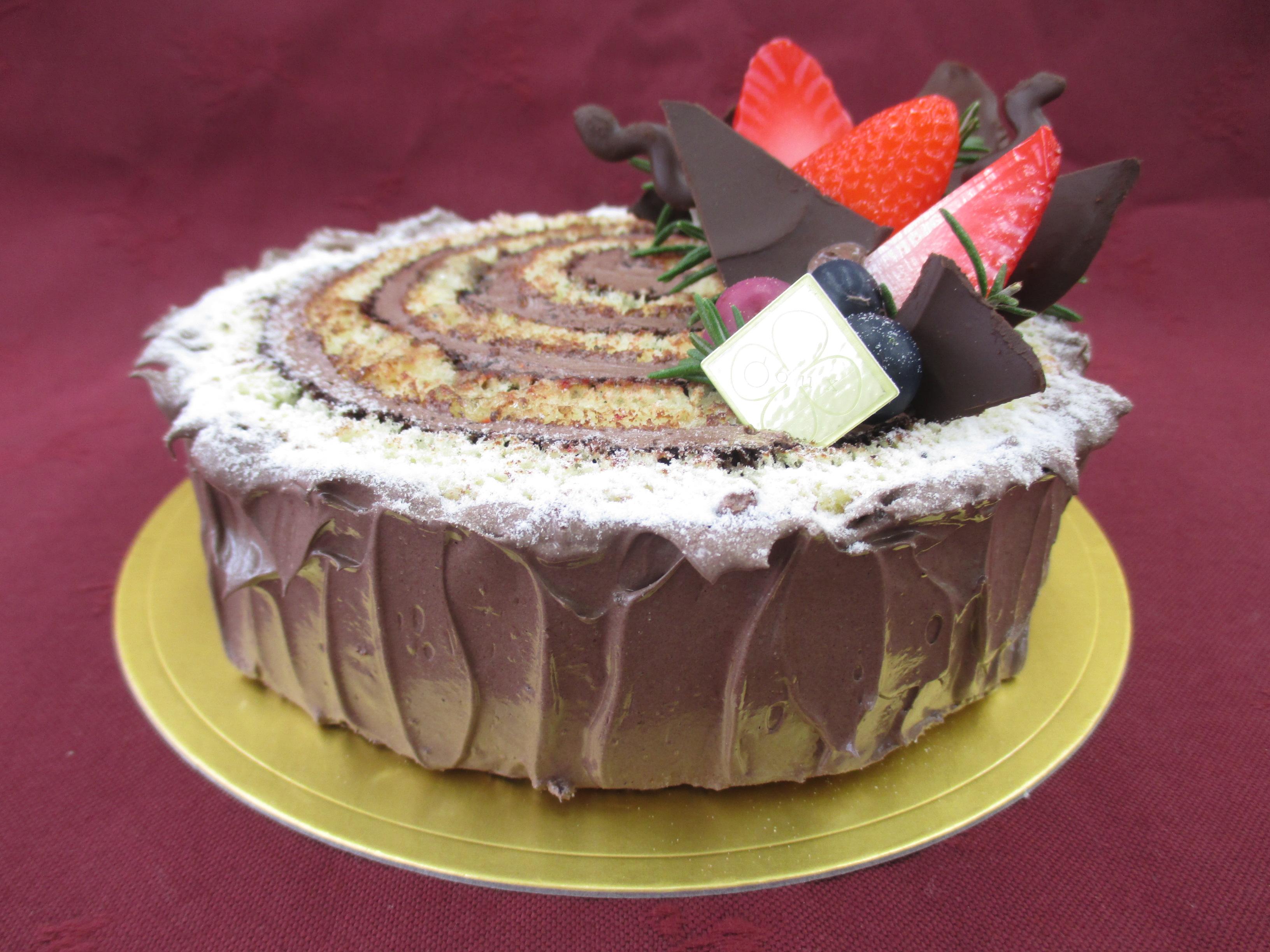 Christmas Cake~オペラ風切り株ケーキ~