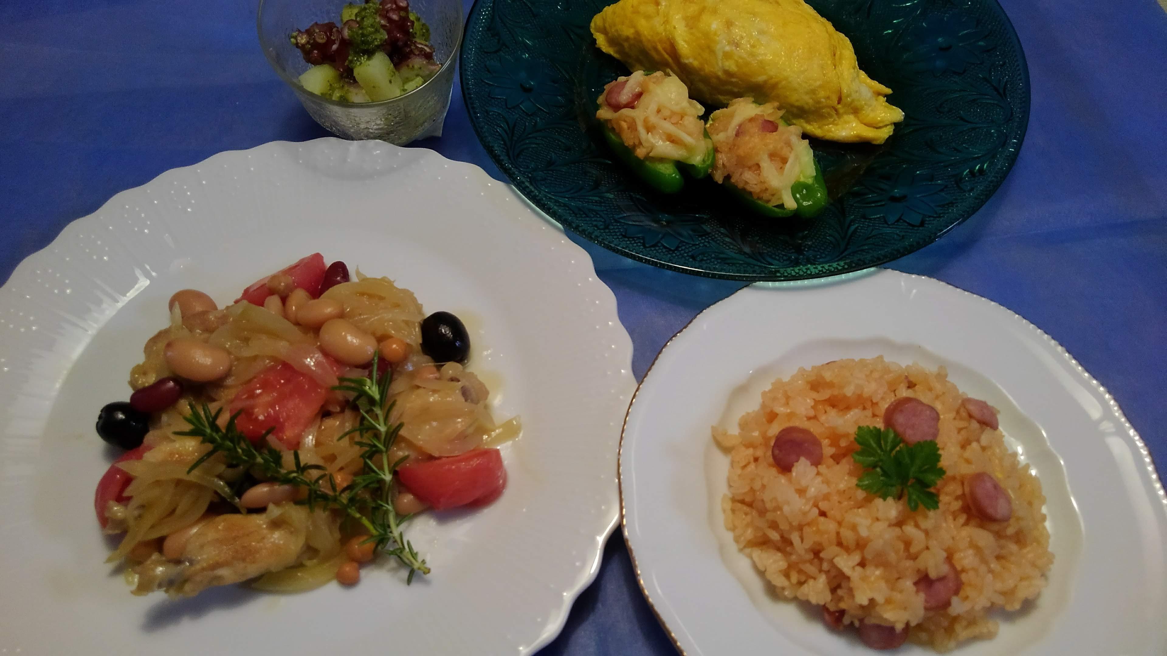 ひとりでつくる料理コースC~7月期