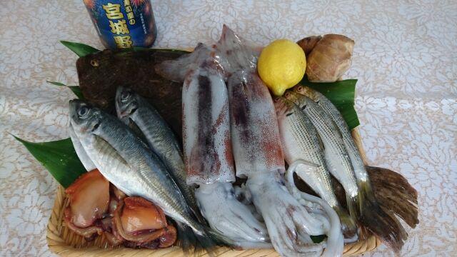 魚の仕込みと盛り付け教室